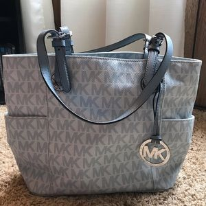 Micheal Kors over the shoulder purse